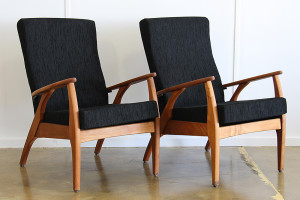 TH Brown Black Armchair_pair_angle
