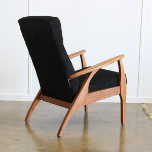 TH Brown Black Armchair_single_back