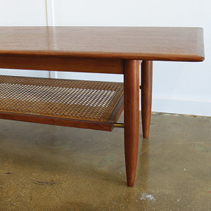 coffee table_rattan shelf_sq