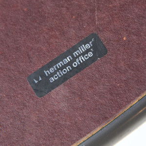 eames table_herman miller sticker