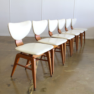 mid century dining chairs_angle row