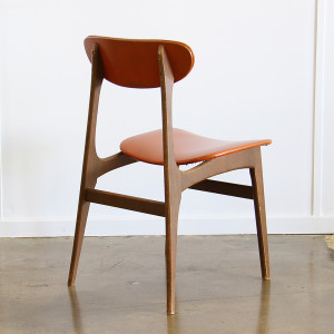 orange dining chair single_angle back
