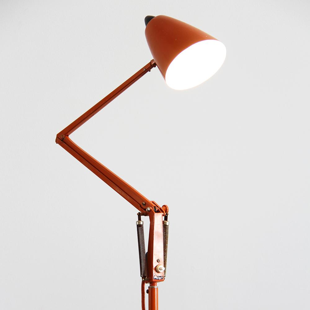 Planet Floor Lamp Orange Realm