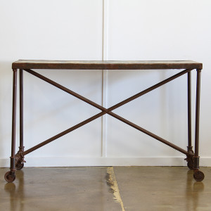 indian console table_front