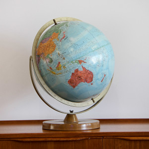 large world globe