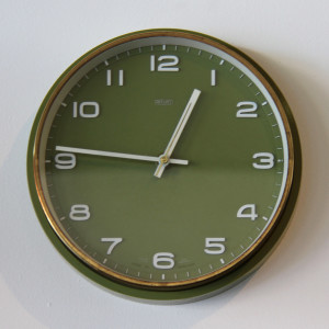 metamec wall clock_front