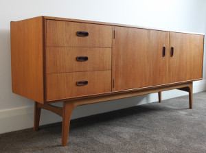 noblett teak sideboard 3drawer