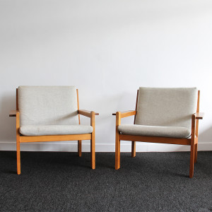 danish plank style armchairs2