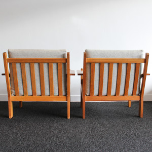 danish teak armchair_back pair
