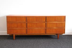 teak chest drawers 1